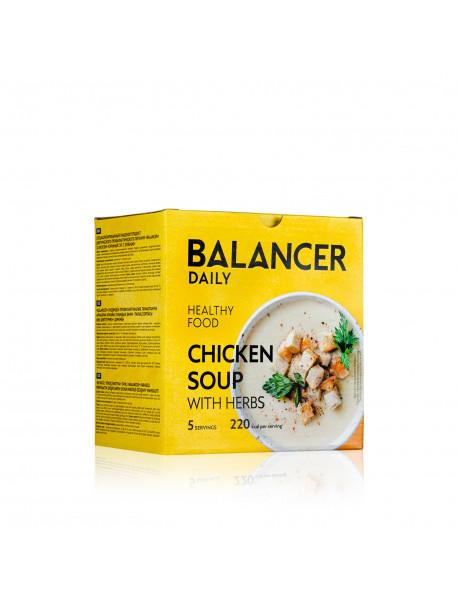 Коктейль BALANCER со вкусом «Куриный суп с зеленью», 5 шт.