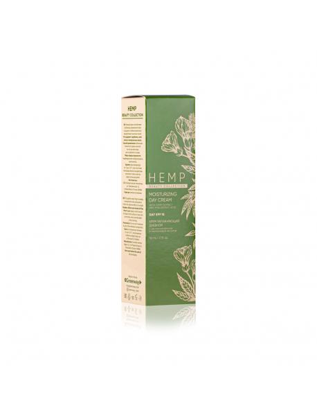 Крем увлажняющий дневной с экстрактом конопли и гиалуроновой кислотой