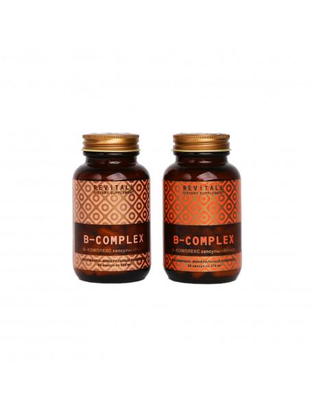Бад Revitall B-Complex, 2 упаковки по 60 капсул