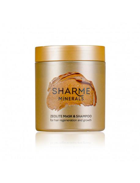Цеолитовая маска-шампунь для восстановления и роста волос