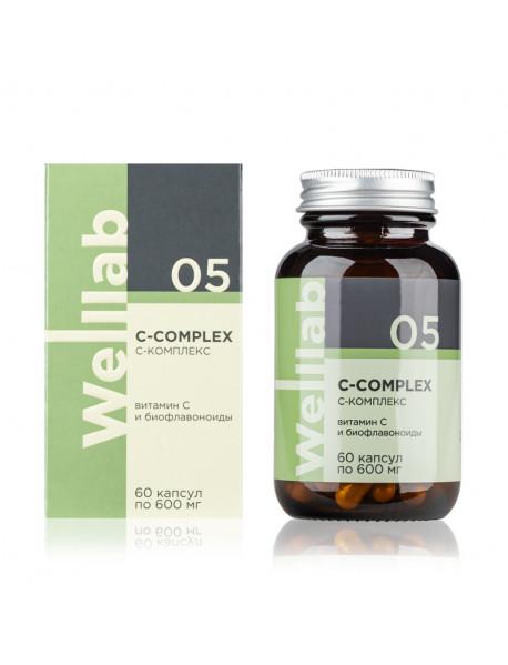 Welllab C-COMPLEX, 60 капсул