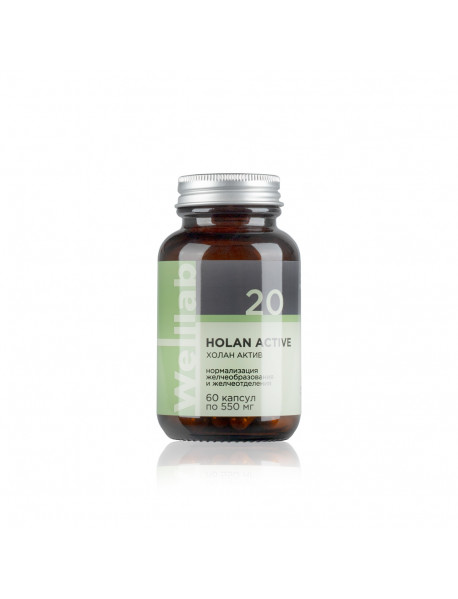 Welllab HOLAN ACTIVE, 60 капсул