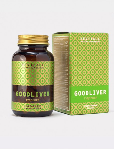 Бад Revitall GOODLIVER, 60 капсул