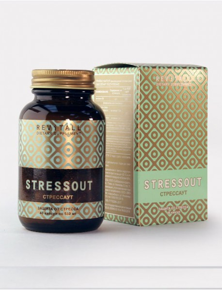 Бад Revitall STRESSOUT, 40 капсул